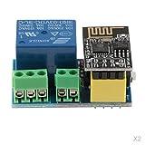 MagiDeal 2 Stück ESP8266 ESP-01S Relais Adapter WLAN/Wifi Modul DIY Schalter Für Jedes Gerät