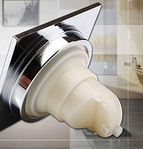 Ssby moderne minimaliste Déodorant Drain en cuivre, Siphon de sol Égouts Toilettes douches à linge... avec grande Displacement