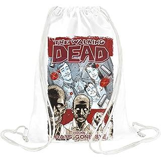 The walking dead Drawstring bag
