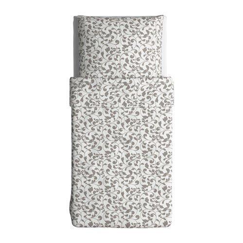 IKEA Bettwäsche Garnitur ROSTVIN 3 Größen (140 x 200 cm)