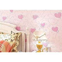 Corazón caliente fondo de pantalla/infantil Sala wallpaper/dormitorio comedor papel pintado/[telón de fondo del papel pintado]/3d fondos de pantalla de boda-A