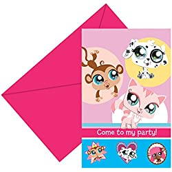 Hasbro - Cubertería para fiestas Littlest Pet Shop (71581)