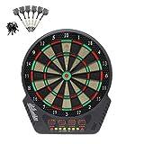 Diana electrónica dardos electrónicos juego Monitor LCD con 6 dardos 43 cm para 1-16 jugadores