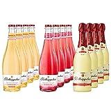 Rotkäppchen Fruchtsecco Mix Alkoholfrei Granatapfel,Mango,Rotkäppchen Alkoholfrei (12 x 0,75l) - Der fruchtige Genuss im Glas.