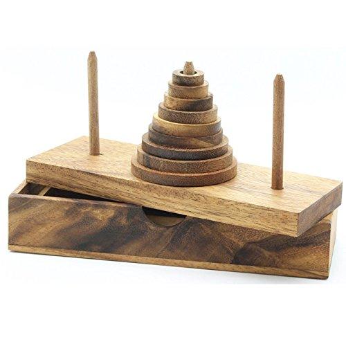 Tower of Hanoi Wooden Brain Teas...