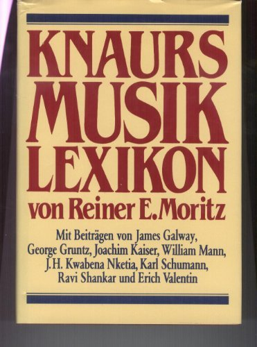Knaurs Musiklexikon