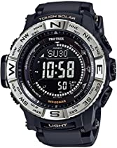 CASIO watches PROTREK Triple Sensor Ver.3 equipped with the world six stations corresponding Solar radio PRW-3510-1JF