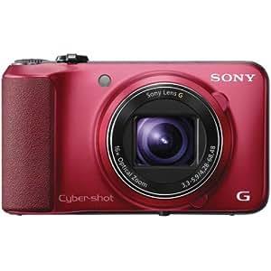 Sony HX10 High Zoom CMOS Sensor Camera - Red (18.2MP, 16x Optical Zoom) 3 inch LCD