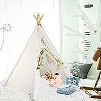 UKadou Kids Teepee Tent for Children Boys Girls