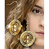 HARRY POTTER Hermione Tiempo Turner Pendientes de Noble Collection