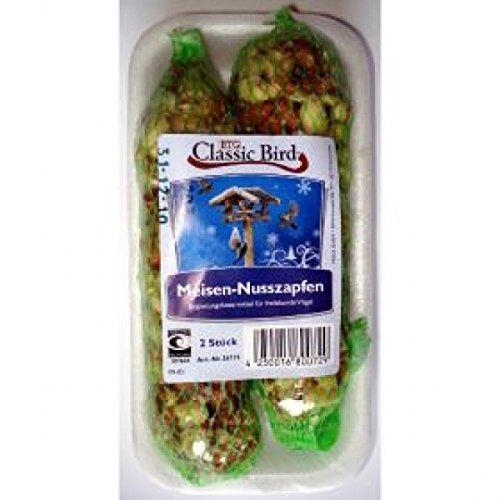 Preisvergleich Produktbild 40 Stück Classic Bird Meisen-Nußzapfen Wintervogelfutter