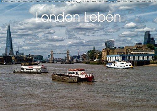 London Leben (Wandkalender 2018 DIN A2 quer): Eindrücke aus der Metropole London (Monatskalender, 14 Seiten ) (CALVENDO Orte) [Kalender] [Apr 01, 2017] Binder, Konstantin (3 Seite Binder)