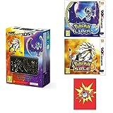 New Nintendo 3DS XL Solgaleo e Lunala Limited Edition + Pokémon Luna e Pokémon Sole + Taccuino