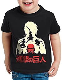 style3 Titans T-Shirt pour enfants Aot des Attaque