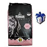 12 kg Bozita Robur Light weizenfreies fettreduziertes Hundefutter + Geschenk