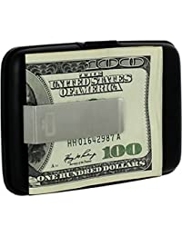 Porte-cartes Stockholm Money clip Aluminium anodisé Pince en acier inoxydable Ögon designs STC