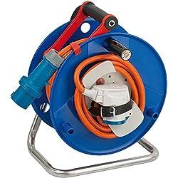 Brennenstuhl 1182450 Garant G - Carrete alargador de cable para navegación y camping (20 m, AT-N07V3V3-F 3G2,5, IP 44)