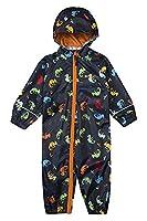 Mountain Warehouse Puddle Kids Printed Waterproof Rain Suit Navy 12-18 months
