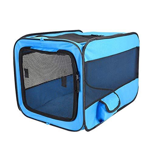 Haustier-Tragetasche, tragbar, erweiterbar, weiche Seiten, für Hundehütte, Tiere, Reisetasche mit Netz-Oberseite, Pop-Up-Käfig für Hunde und Katzen (Pop-up-katze Käfig)