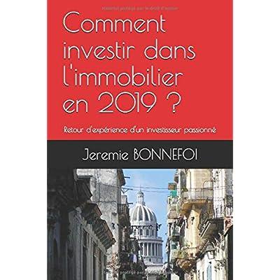 Comment investir dans l'immobilier en 2019 ?: Retour d'expérience d'un investisseur passionné