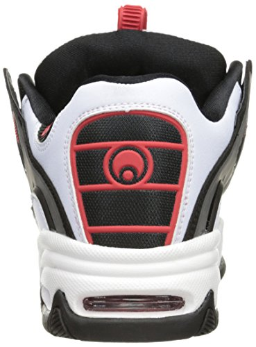 Osiris D3 2001 White/Black/Red White/Black/Red
