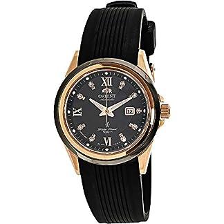 Orient Reloj Analógico para Mujer de Automático con Correa en Caucho FNR1V001B0