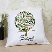 Family Tree-Cuscino personalizzato, regalo ideale per la famiglia