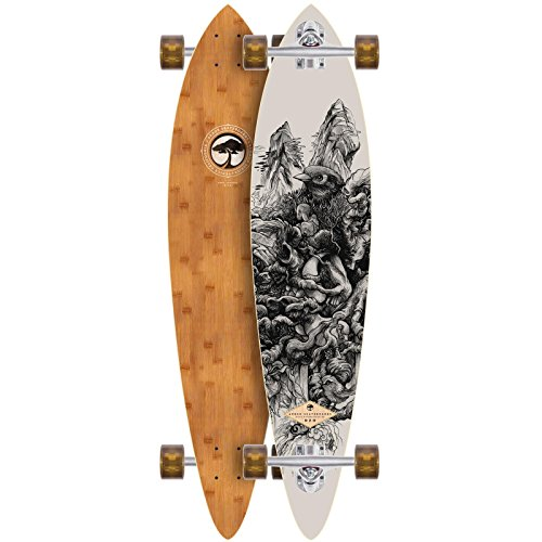 ARBOR Longboard Fish Bamboo Collection 39 Zoll (99,06cm), Size: 39 Zoll - (99cm)