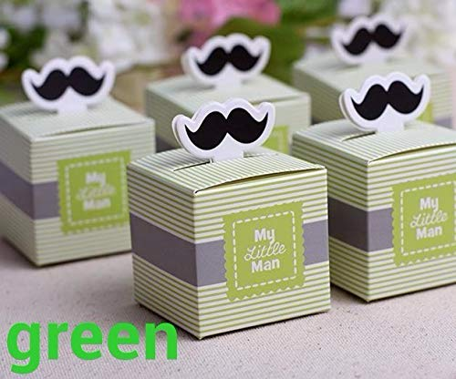 50 stücke My little Man Nette Schnurrbart Geburtstagskind Baby Dusche bevorzugt kästen und taschen baby shower souvenirs hochzeit geschenke für gäste