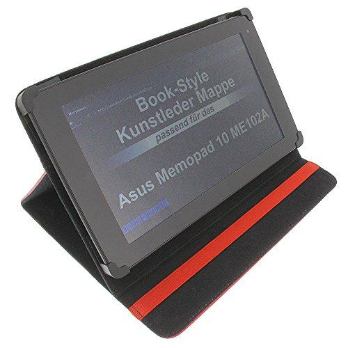 foto-kontor Tasche für Asus MeMo Pad 10 ME102A Eee Pad TF 101 16GB Tablet VivoTab RT 10.1 Tablet MeMO Pad FHD 10 16GB 4G