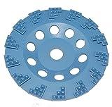 Blue PKD 180 mm Diamant Schleiftopf, 14 Block Segmente, Beton, Estrich, Farbe, Fliesenkleber, Teppichreste