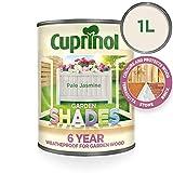 Cuprinol Garden Shades 1 L - Pinturas de Pared para Interior (Pintura, Preparado, Construcción, En Vallas y cercados, Muebles, Shed, Mate, 1 L, Pale J