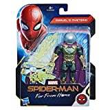 Hasbro Marvel Spider-Man- Far from Home Mysterio Action Figure da 15 cm, Multicolore, E4124ES0