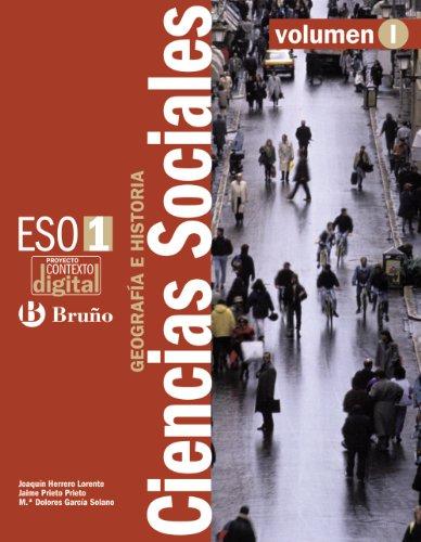 Contextodigital Ciencias Sociales Geografía e Historia 1 ESO - 3 volúmenes: Libro