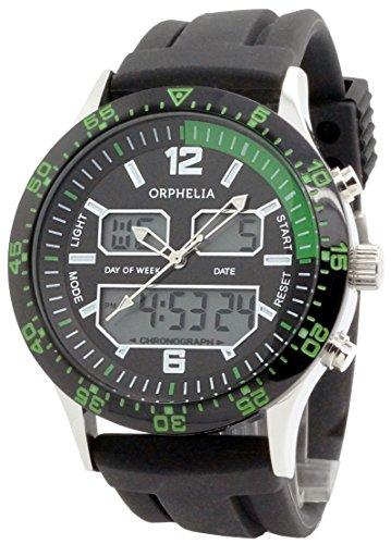 orphelia-montre pour homme à quartz movement en silicone-or132–1702–14
