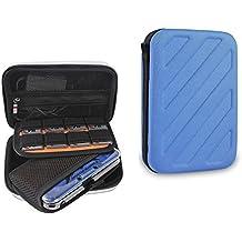 Funda Nintendo 3ds, ket Protección de Móvil EVA Hard Shell Cover Juego de accesorios de viaje para Nintendo Consola y accesorios Original DS / 3DS / DS Lite / Nintendo 3DS XL / DSi / etc, azul