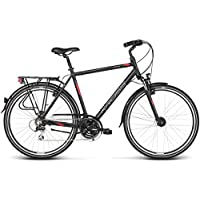 Kross Bicicleta Trans 3.0, Black Red 28
