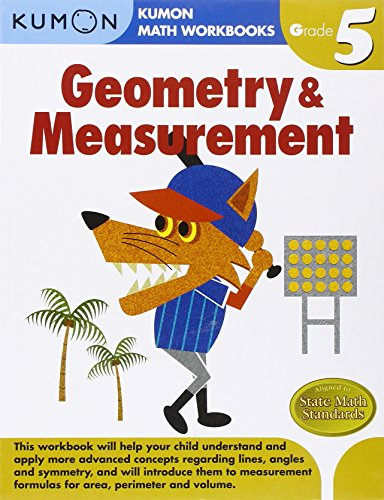 Geometry & Measurement, Grade 5 (Kumon Math Workbooks)