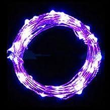 Illuminazione,WINWINTOM 2m 20 LED Stringa luminosa a LED in Rame, Impermeabile Pieghevole, Bianco Caldo (Viola) - Sensore Di Livello Laser