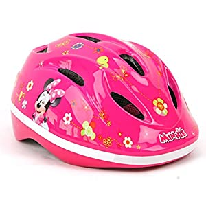 Disney Minnie Mouse-Casco de Bicicleta para niños Casco