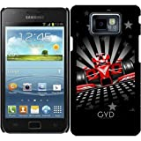 Hülle für Samsung Galaxy S2 (GT-I9100) - Formel 1 Rote