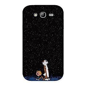 Stylish Counting Stars Multicolor Back Case Cover for Galaxy Grand Neo Plus