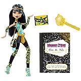 Monster High N2851 -  Muñeca Cleo de Nile con diario  monstruoso (Mattel) [importado]