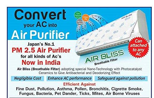 Health Innovative Airbliss - Convert Your Window Ac Into An Air Purifier (Blue)