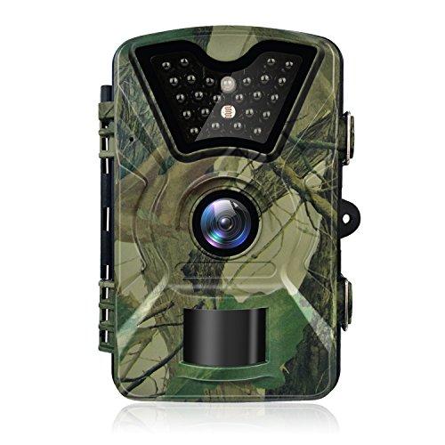 Hykamic Outdoor-Kamera, 12MP, 1080P, HD, Spiel- und Outdoor-Kamera, wasserdicht, IP66, fürWildnis, Jagd, Pfadfinder, Kamera mit Infrarot-Licht, Tag-und-Nacht-Version, digitale Überwachungskamera