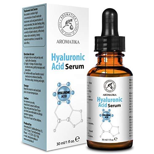 Hyaluronsäure Serum 30ml - für Gesicht und Körper - mit Hyaluronsäure - Anti-Aging Serum für...