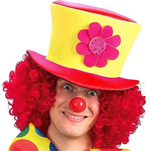 Cappello pagliaccio - clown - saltinbanco - costume - travestimento - carnevale - halloween - cosplay - accessori - uomo - donna - bambini - idea regalo per natale e compleanno - modello 4