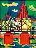 Poster 90 x 120 cm: der Frankfurter Dom von Ernst Ludwig Kirchner/akg-Images - Hochwertiger Kunstdruck, Neues Kunstposter
