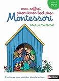 Mon coffret premières lectures Montessori - Chut, je me cache !