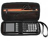 Daorier Case Voyage Noir dur pour TI-84 Plus Color Edition TI-89 Titanium HP50G TI-83 Plus TI-84 Plus CE TI-84 Plus TI-84 Plus C editionGraphing argent Calculatrices avec Kit Calculator Accessoire 1 Pcs